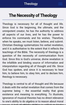 Systematic Biblical Theology apk screenshot