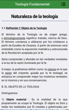 Teología Fundamental poster