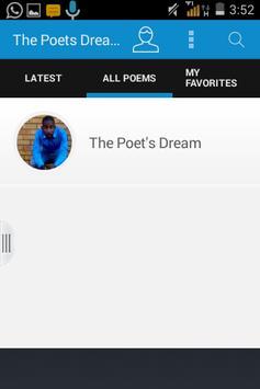 The Poet's Dream apk screenshot