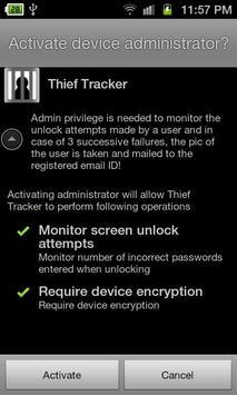Thief Tracker apk screenshot