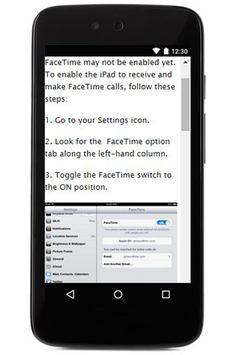 Video Facetime Call Guide apk screenshot