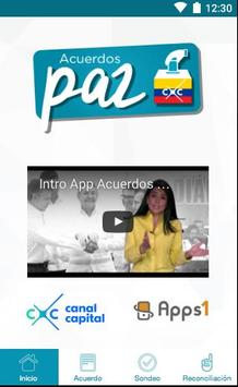 AcuerdosPaz poster