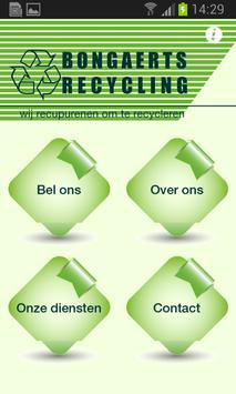 Bongaerts Recycling poster