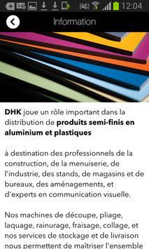 D.H.K. PLASTICS apk screenshot