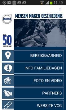 50 jaar Volvo Car Gent poster