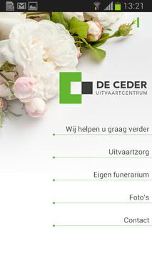 Uitvaartcentrum De Ceder poster