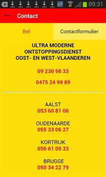 De Gentse Ontstoppingsdienst apk screenshot