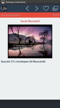 Surah Muzammil apk screenshot