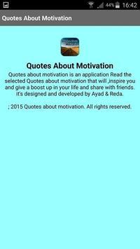 Quotes About Motivation apk screenshot
