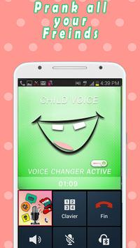 voice changer in call apk screenshot