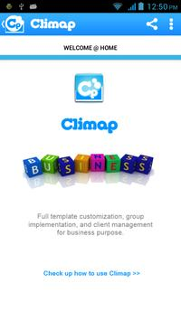 Climap - Client Manager poster