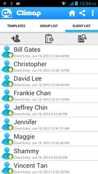 Climap - Client Manager apk screenshot
