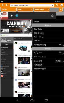Nova Private Browser Free apk screenshot