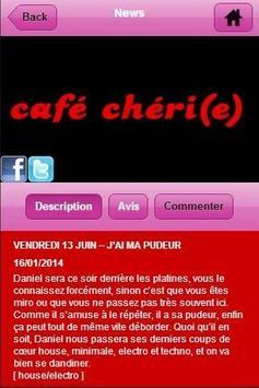CAFE CHERI(E) apk screenshot