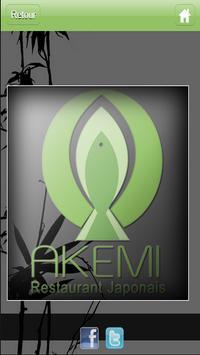 Akemi sushi apk screenshot