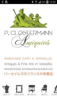 Galerie P Clostermann poster