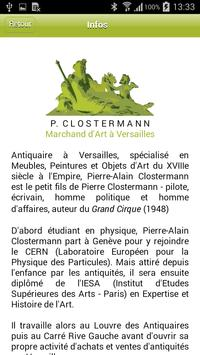 Galerie P Clostermann apk screenshot