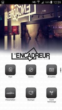 L'Encadreur art & craft poster