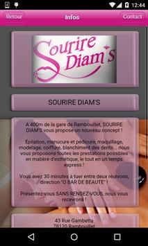 Sourire Diam's apk screenshot