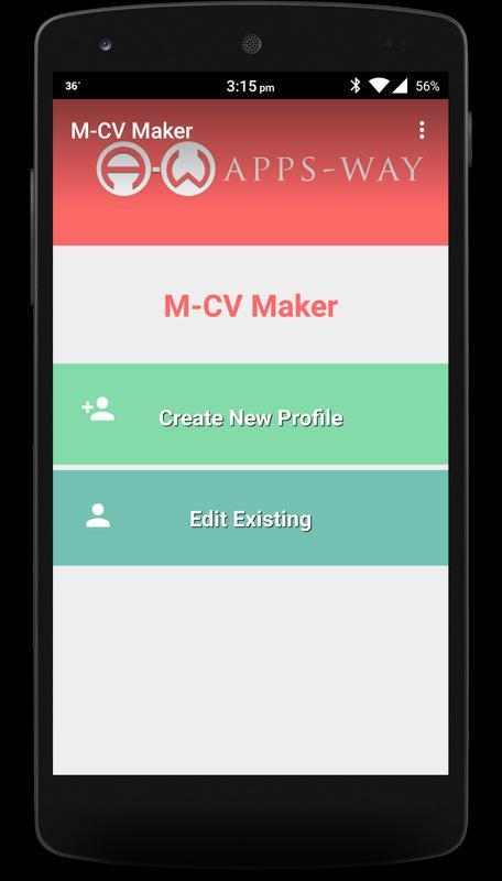 m cv resume maker apk free tools app for