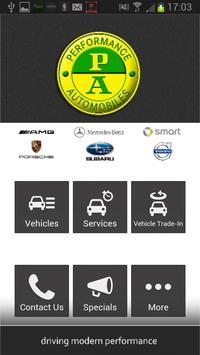 Performance Automobiles poster