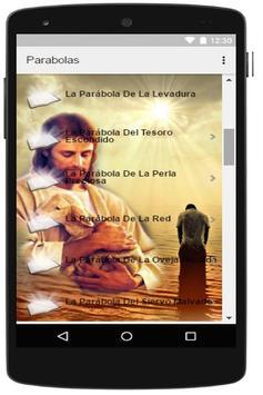 Parabolas de jesus apk screenshot
