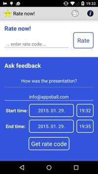 Rate Now apk screenshot
