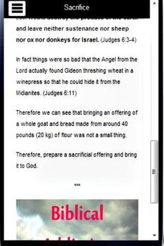 Gideon Bible Study poster