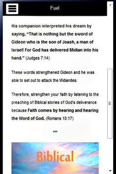 Gideon Bible Study apk screenshot