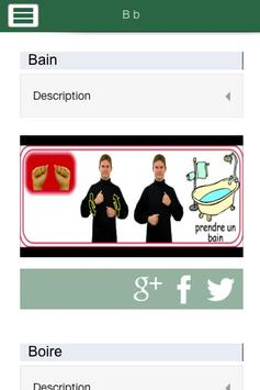 Dictionnaire LSQ-Français RESO apk screenshot