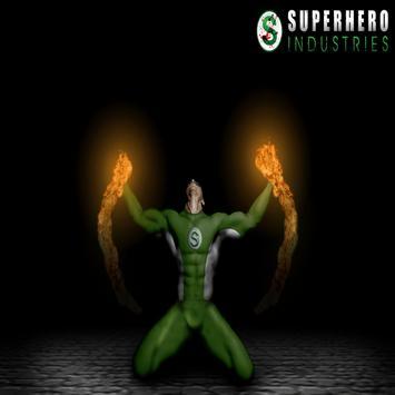 SUPER HERO 1 poster
