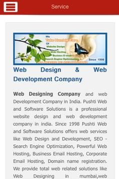 WebDesignMumbai Pushtiwebindia apk screenshot