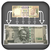 Change Notes Rs 500, 1000 icon