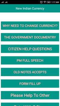 Change Notes Rs 500, 1000 poster