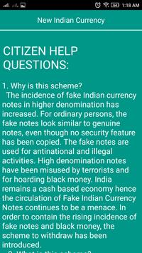 Change Notes Rs 500, 1000 apk screenshot
