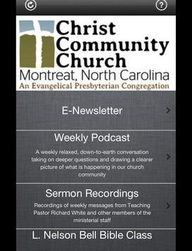 CCC Montreat App poster