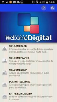 WelcomeDigital poster