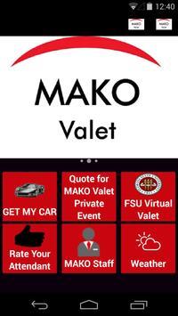 MAKO Valet poster