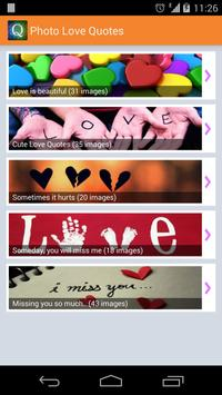 Love Picture Quotes poster