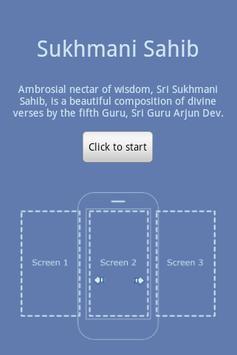Sukhmani Sahib - Gurmukhi poster