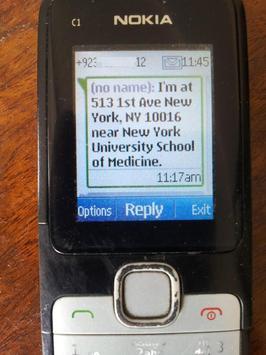 Here I Am - Text your location apk screenshot