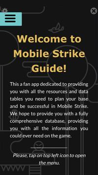 Guide for Mobile Strike poster