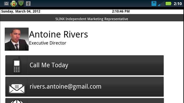 Antoine Rivers 5LINX IMR apk screenshot