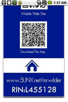Markess A. Wilder 5LINX (IMR) apk screenshot