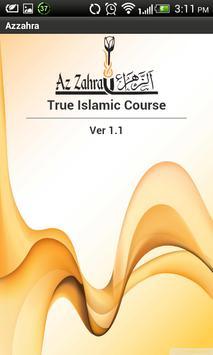 Azzahra Islamic Course poster