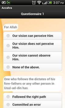 Azzahra Islamic Course apk screenshot