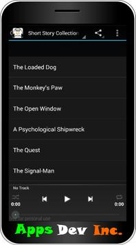 Short Stories Audiobooks apk screenshot