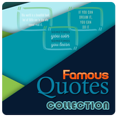 Famous Quotes Collection icon