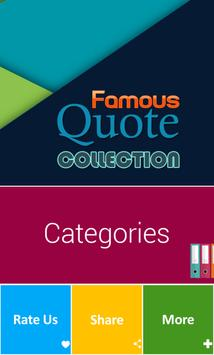 Famous Quotes Collection apk screenshot