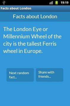 Interesting facts about London apk screenshot